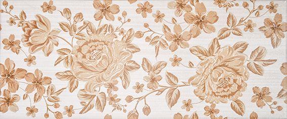 Fabric beige Декор 01 25х60Плитка<br><br>