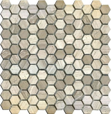 Мозаика MN160HLA Primacolore 25x25 hexagon/300х300 (11pcs) - 0.99Мозаика<br><br>