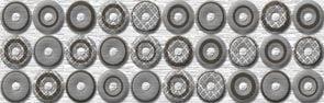 Шелк серый /83-03-06-038-0/ /76-02-02-38/ Бордюр 25х8Плитка<br><br>
