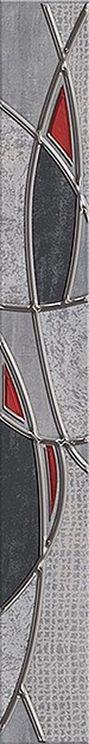 Pandora Бордюр Grey Charm 7,5х63Плитка<br><br>