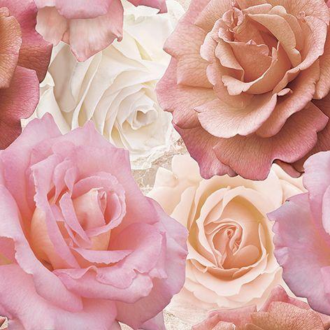 Wave Roses Декор напольный (WA6E452DT) 44x44Плитка<br><br>