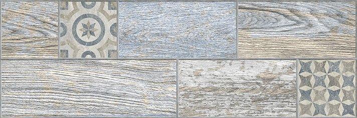 Индиго Керамогранит декор голубой 3606-0028 Плитка<br><br>