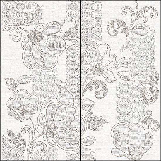 Illusio Панно Grey Pattern 63х63 (комплект из 2 пл.)Плитка<br><br>