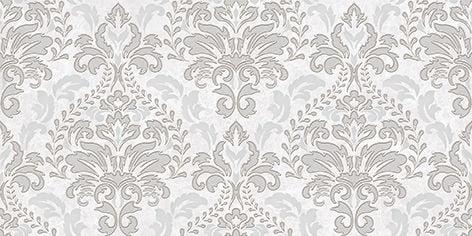 Afina Damask Декор серый 08-03-06-456 20х40Плитка<br><br>