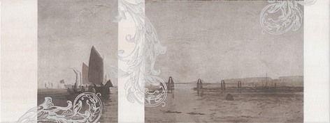 Ньюпорт Декор Корабли коричневый STG\A208\15010 Плитка<br><br>