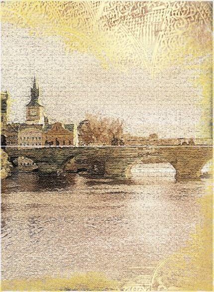 Прага Панно из 2 плиток ПН7ПГ3 36,4х49,8Плитка<br><br>