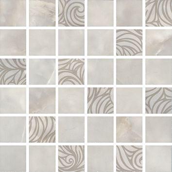 Вирджилиано Декор мозаичный серый MM11101 Плитка<br><br>