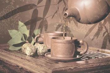 Tea ceremony Декор D2D175 20х30Плитка<br><br>