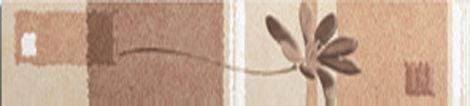 Эдем бордюр цветы вертикальный 1504-0078 9х39,8Плитка<br><br>