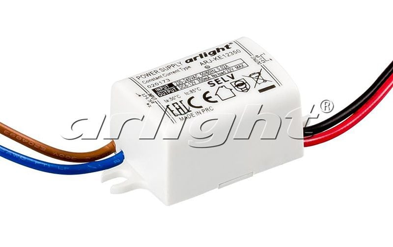 Блок питания Arlight ARJ-KE12350 (4W, 350mA) 020173Блоки питания<br><br>