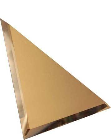 Треугольная зеркальная бронзовая плитка Плитка<br><br>
