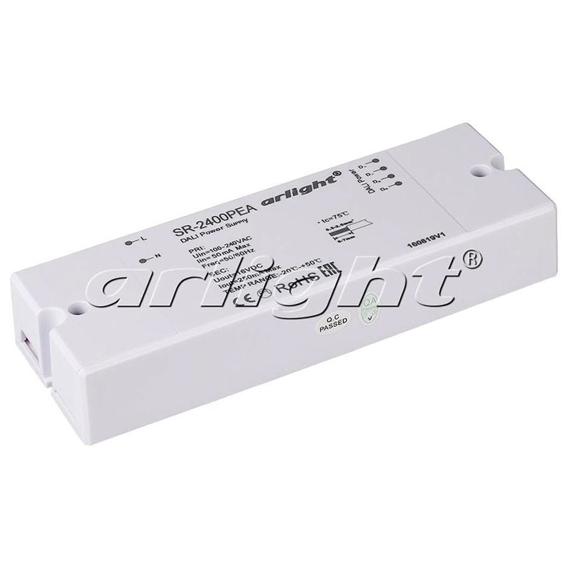 Блок питания Arlight ARV-SR-2400PEA (16V, 250mA, DALI) 019454Блоки питания<br><br>