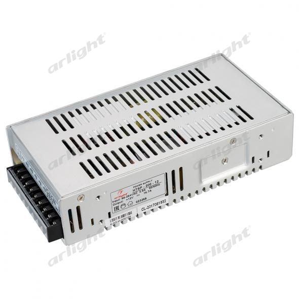 Блок питания Arlight HTSP-200-12 (12V, 16.7A, 200W, PFC) 023268Блоки питания<br><br>
